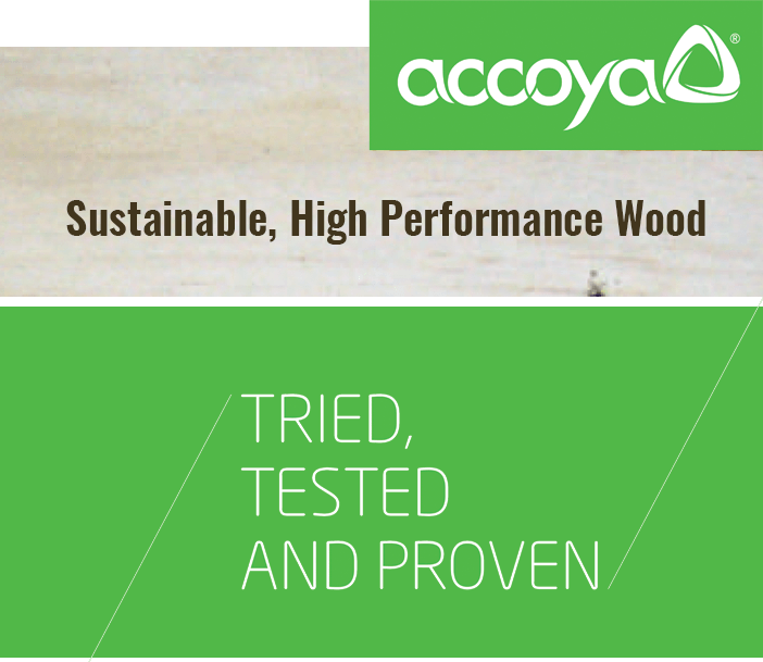 Sustainable, High Performance Wood