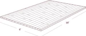 A Typical Strip Flooring